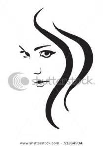 Women Face Hair Silhouette Clip Art