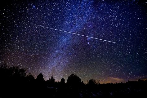 meteor shower  brighten bc skies starting saturday