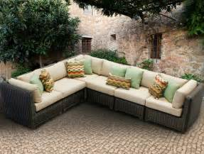 Diy Cushion Bench by 25 Awesome Modern Brown All Weather Outdoor Patio Sectionals