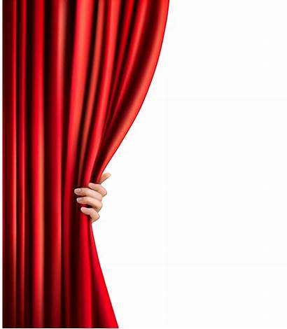 Curtain Opening Hand Curtains Theater Female Transparent