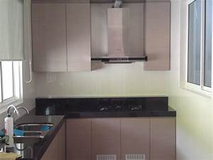 Kitchen cabinets laminated with formica