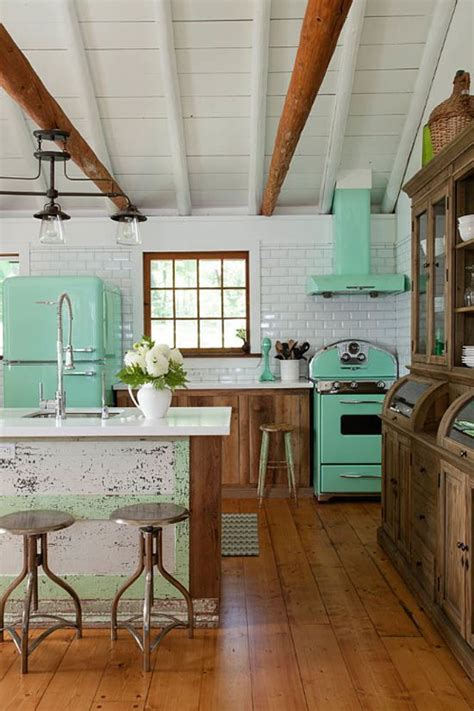 Retro Kitchens Search by 25 Ideas To Give Your Kitchen A Retro Feel Digsdigs