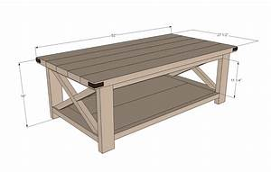 Plans A Rustic Coffee Table Plans DIY Free Download