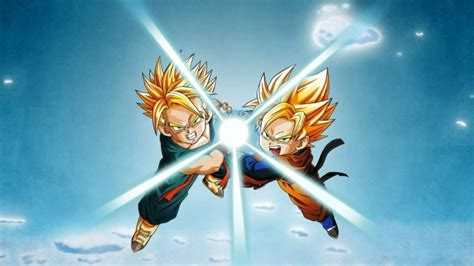 wallpaper dragon ball  trunks goten super saiyan mode