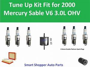 Fuel Filter  Air Oil Filter  Spark Plugs Fit For Tune Up