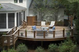 Idea Porch Screened Deck Railing