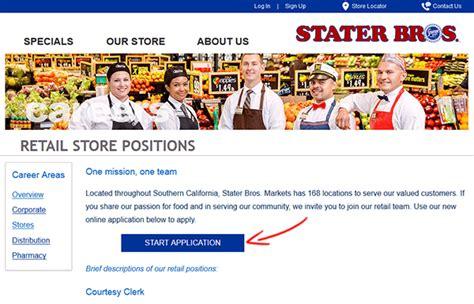 Stater Bros. Job Application - Apply Online