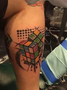 Rubik's cube tattoo   My Rubik's cube tattoo   Pinterest ...