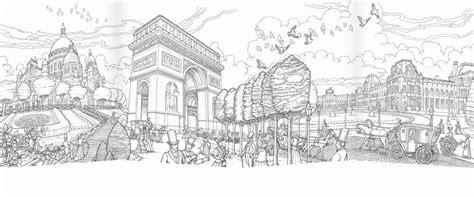 coloring paris featuring  artwork  celebrated