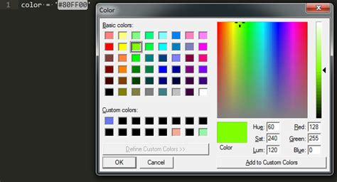 color picker  windows plugin announcements sublime