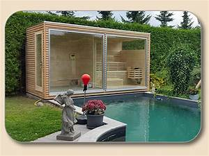 Gartenhaus Mit Glasfront : gartensauna modern aussensauna kaufen ~ Sanjose-hotels-ca.com Haus und Dekorationen