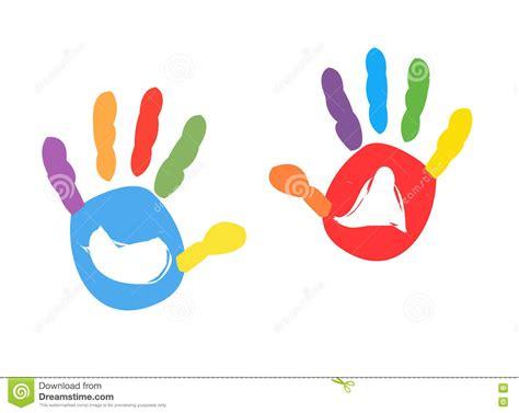 Handprint Cartoons, Illustrations & Vector Stock Images