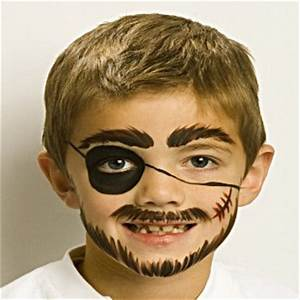 Pirate - Fun Face Paint Ideas - How to Face Paint ...