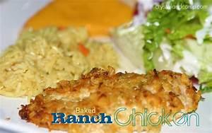 Easy RecipesBaked Ranch Chicken CrystalandComp com