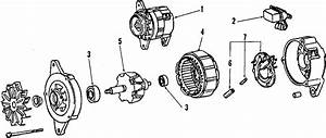 Toyota Pickup Obs  Remanufactured Alternator  40 Amp  W
