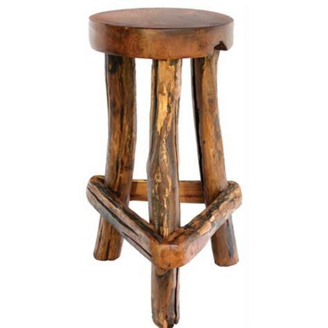 chaise en bois rustique les concepteurs artistiques chaise de bar en bois rustique