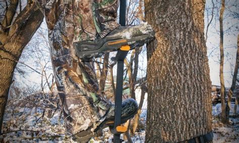 climbing tree sticks stands hunting into blinds easy ladder hang lightweight hunter getting bow advancedhunter hunters