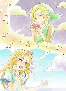 Link39s Awakening And Marin Song Legend Of Zelda