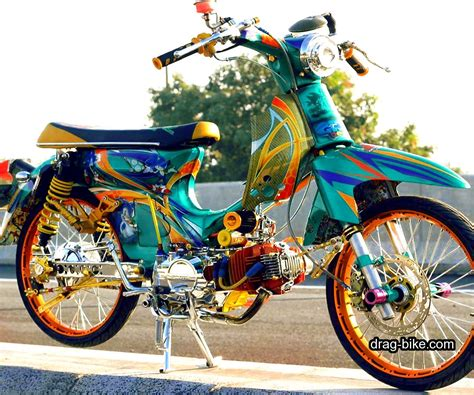 Style Modifikasi by 40 Foto Gambar Modifikasi Honda C70 Kontes Airbrush