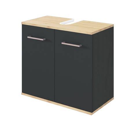 Badezimmer Waschbeckenunterschrank Grau by Bad Waschbeckenunterschrank Lynd 2 T 252 Rig 60 Cm Breit