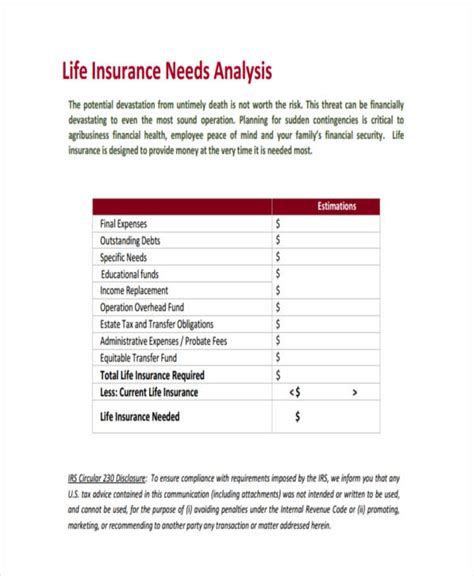 Then, sit back and do some comparison shopping. 32 Life Insurance Needs Worksheet - Worksheet Resource Plans
