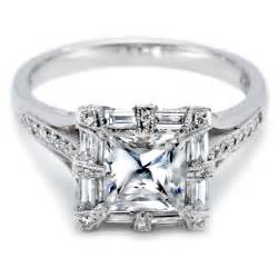 princess cut wedding rings kinds of wedding rings for princess cut ring review