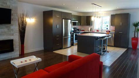 deco salon et cuisine ouverte deco salon cuisine aire ouverte