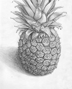 Pineapple Drawing by Banvivirie on DeviantArt