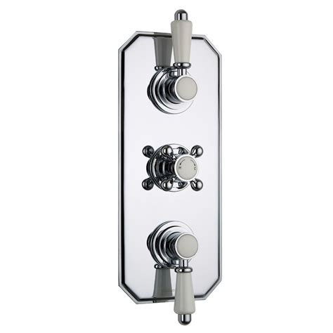 3 Outlet Shower Valve - traditional concealed 3 outlet with diverter