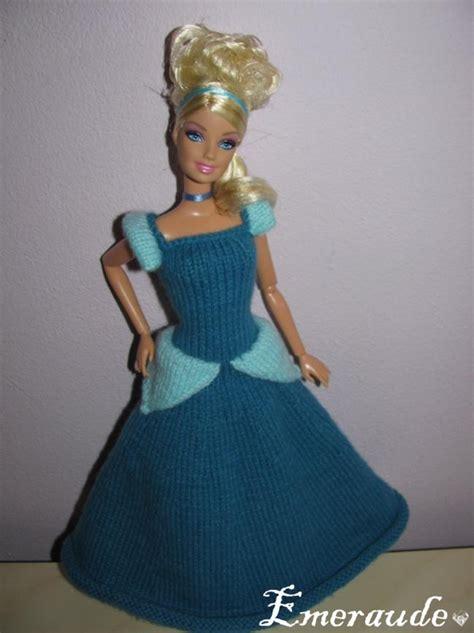 tricot robe de princesse disney cendrillon les