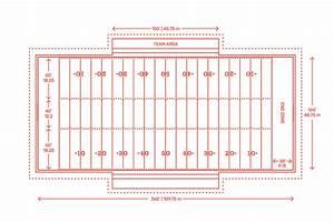 American Football Field Dimensions  U0026 Goal Post Size