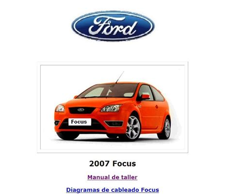 manuales de mecanica automotriz by autorepair soft manual de reparacion ford focus 2007