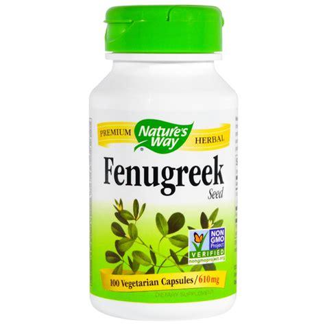 Buy Natures Way Fenugreek Seed 610 Mg 100 Capsules