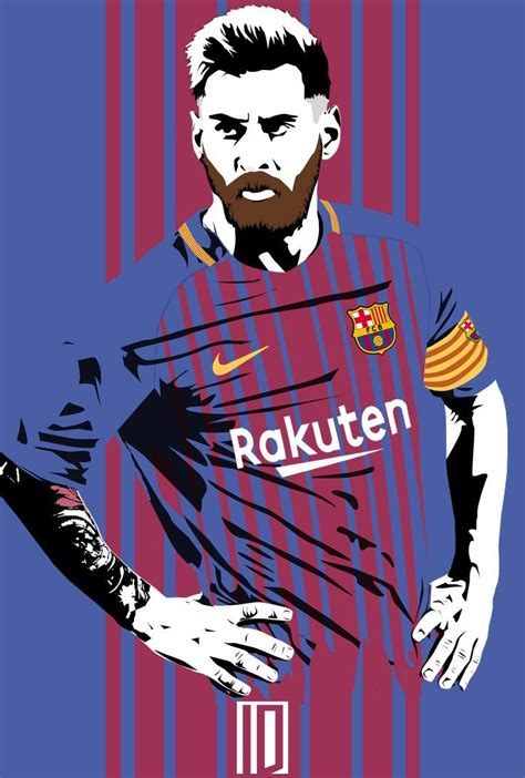 messi cartoon wallpaper | Lionel messi, Lionel messi ...