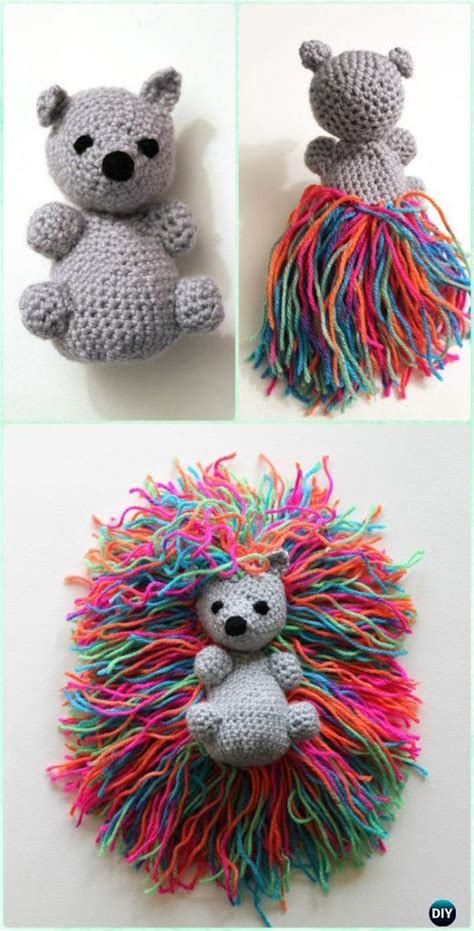 crochet amigurumi garden animal toys  patterns