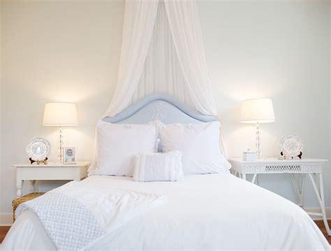 sheer bed canopy transitional bedroom elizabeth