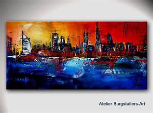 Bilder Acryl Abstrakt : burgstaller abstrakte gem lde original bilder kunst malerei unikat acryl dubai ebay ~ Whattoseeinmadrid.com Haus und Dekorationen