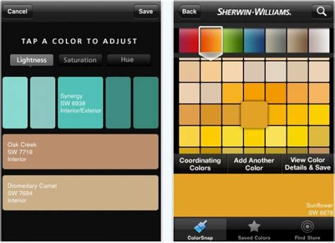 10 iphone apps to help you choose the home colors