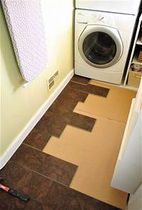 laundry room flooring Completing Our Kitchen's Cork Floor Installation | Young ...