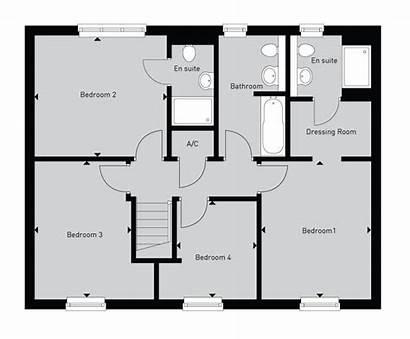 Detached Semi Plans Bedroom Floor Wood Plan