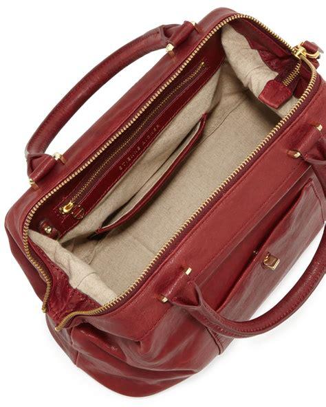 aigner batik polos leather orange etienne aigner epic leather satchelshoulder bag cordovan