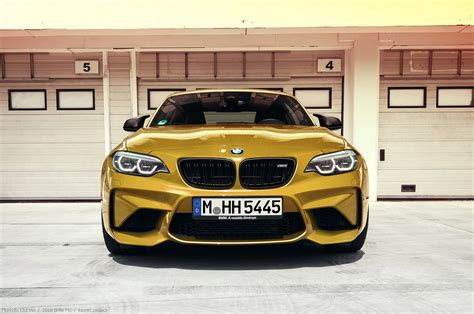 2018 Bmw M2 Facelift Photos Accidentally Posted Online