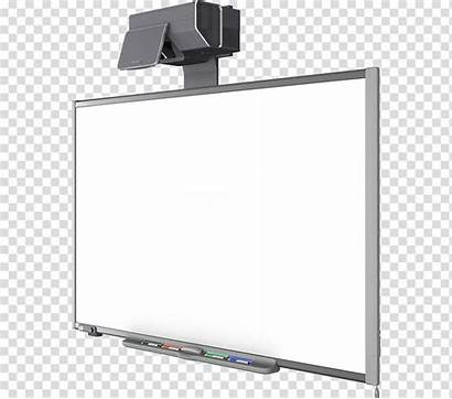 Whiteboard Interactive Board Background Clipart Projector Transparent