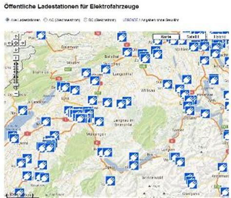 Ladestationen Fuer Elektroautos Interaktive Karte 214 ffentliche ladestationen f 252 r elektrofahrzeuge in der