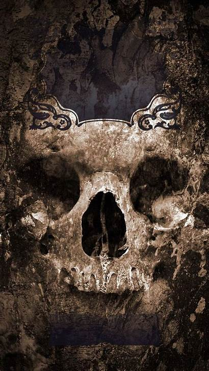 Lock Screen Scary Rock Skull Iphone Wallpapers