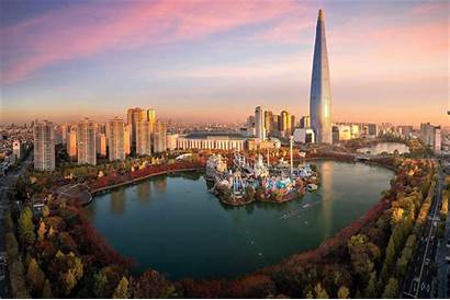 Seoul Korea Desktop South Wallpapers Backgrounds Wallpaperaccess