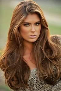 Cheveux Couleur Noisette : 26 super beispiele f r haarfarbe karamel ~ Melissatoandfro.com Idées de Décoration
