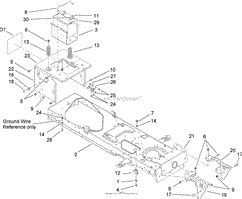 Toro Lx500 Part Diagram by Toro 13ap60rp544 Lx500 Lawn Tractor 2006 Sn 1a056b50000