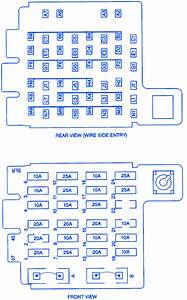 Chevrolet Tahoe 5 7l 1997 Side Of Dash Electrical Circuit Wiring Diagram  U00bb Carfusebox