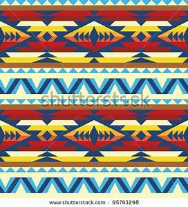 Native American Border Designs | Traditional pattern of ...